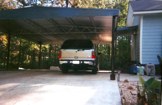 Add value to your home with a brand-new carport